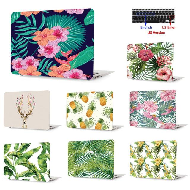 70df6e7c4910 US $17.99  Tropical rainforest plant series Painting Case For Macbook Air  11 13Pro 15 Retina 12 Touch Bar 13 inch Colors Laptop Cover Shell-in Laptop  ...