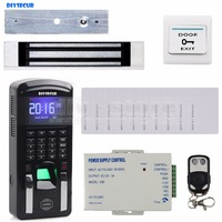 TCP IP USB Fingerprint ID Card Reader Password Keypad Door Access Control System Power Supply Magnetic