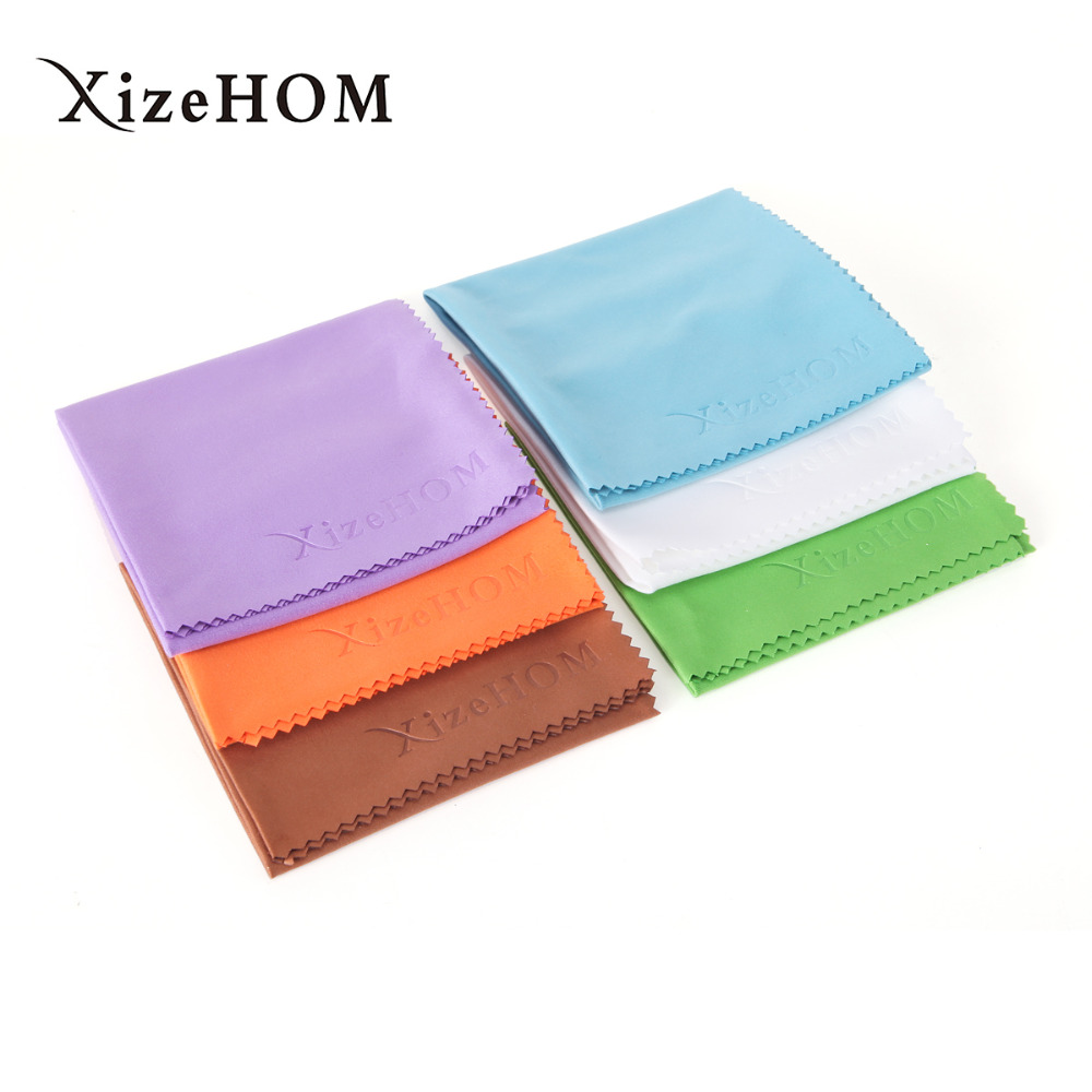 XizeHOM 30*30cm/2pcs Microfiber Cloth for Lens Cleaning Eyeglass Lenses Sunglasses Camera Lenses Cell Phone Laptop Lens Clothes