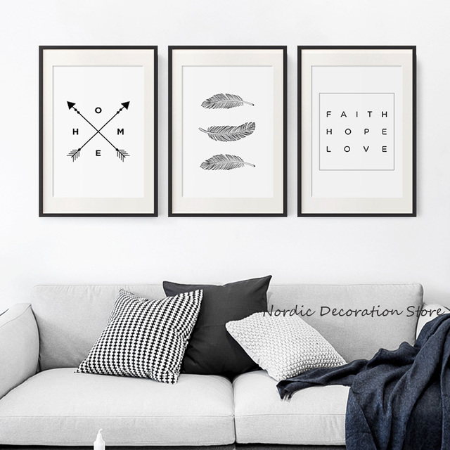 Aliexpress.com : Buy Black And White Dandelion Posters And Prints ...