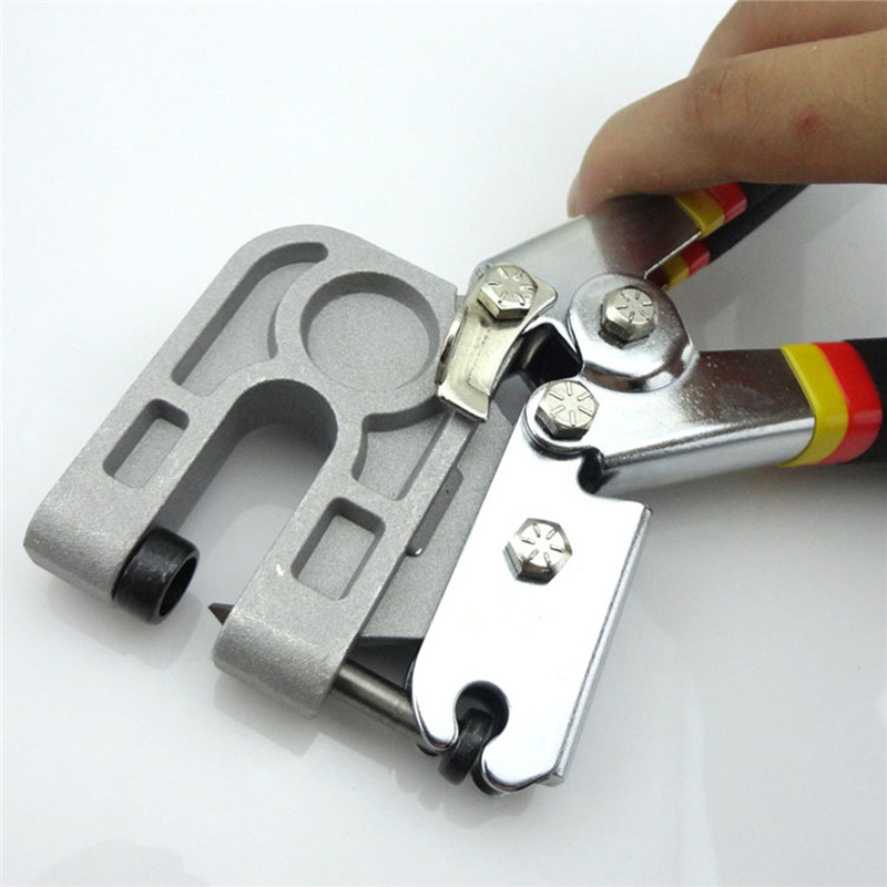 Image 2 - New 1Pcs 10 Inch TPR Handle Stud Crimper Plaster Board Drywall Tool for Fastening Metal Studsstud crimpertools forcrimper tool -