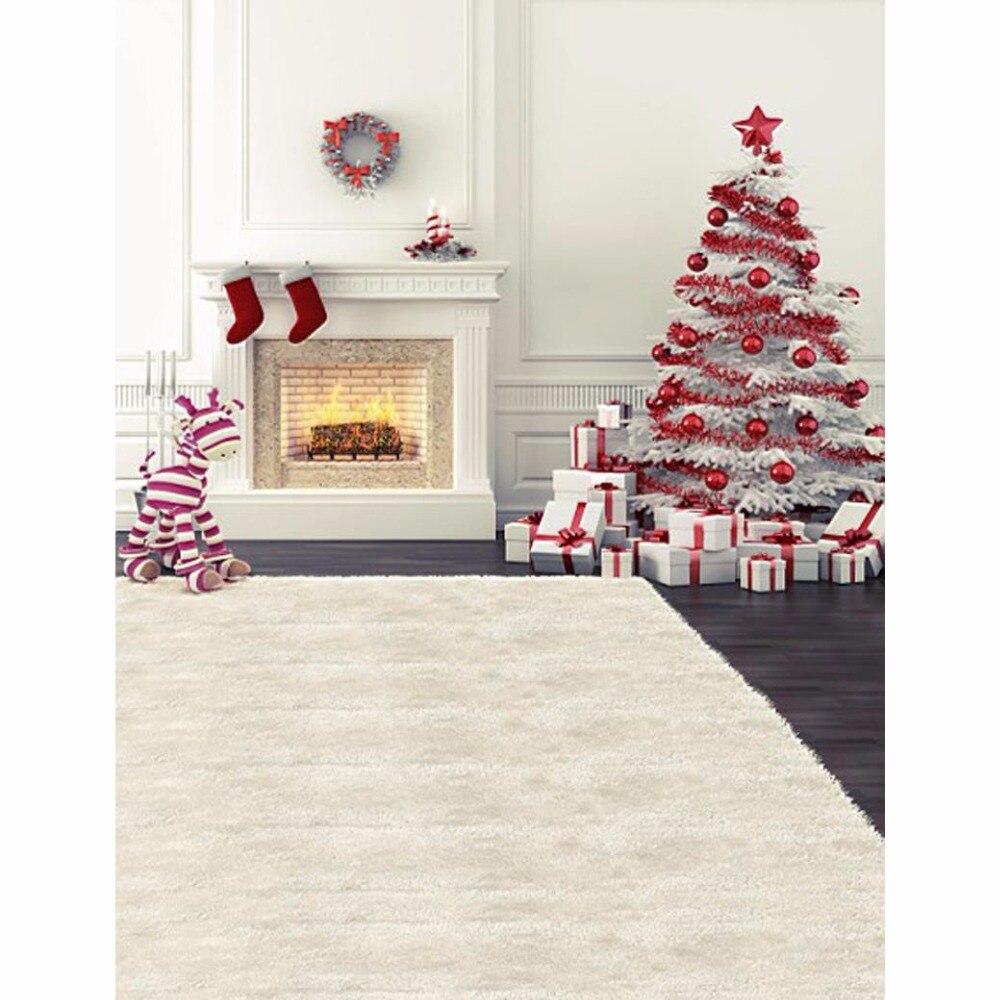 Allenjoy 215CM*150CM backgrounds Zebra stove Christmas gifts photography backdrops photo LK 1361 new arrival background fundo gifts christmas trees 600cm 300cm width backgrounds lk 3730