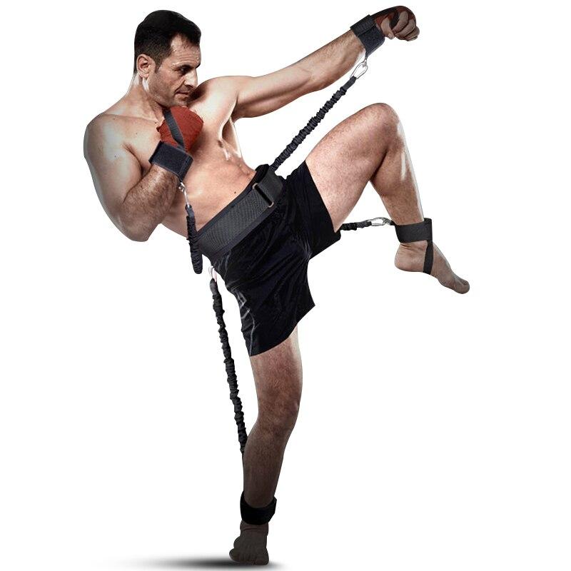 Resistência Bandas de Energia treino Boxe Resistência Agilidade Treinamento de Resistência Corda Puxar Corda Elástico Crossfit Salto de Basquete