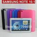 3in1 силиконовый чехол для samsung Galaxy Note 10.1 N8000 N8010 + Бесплатно гвардии Экран + Бесплатная Стилус