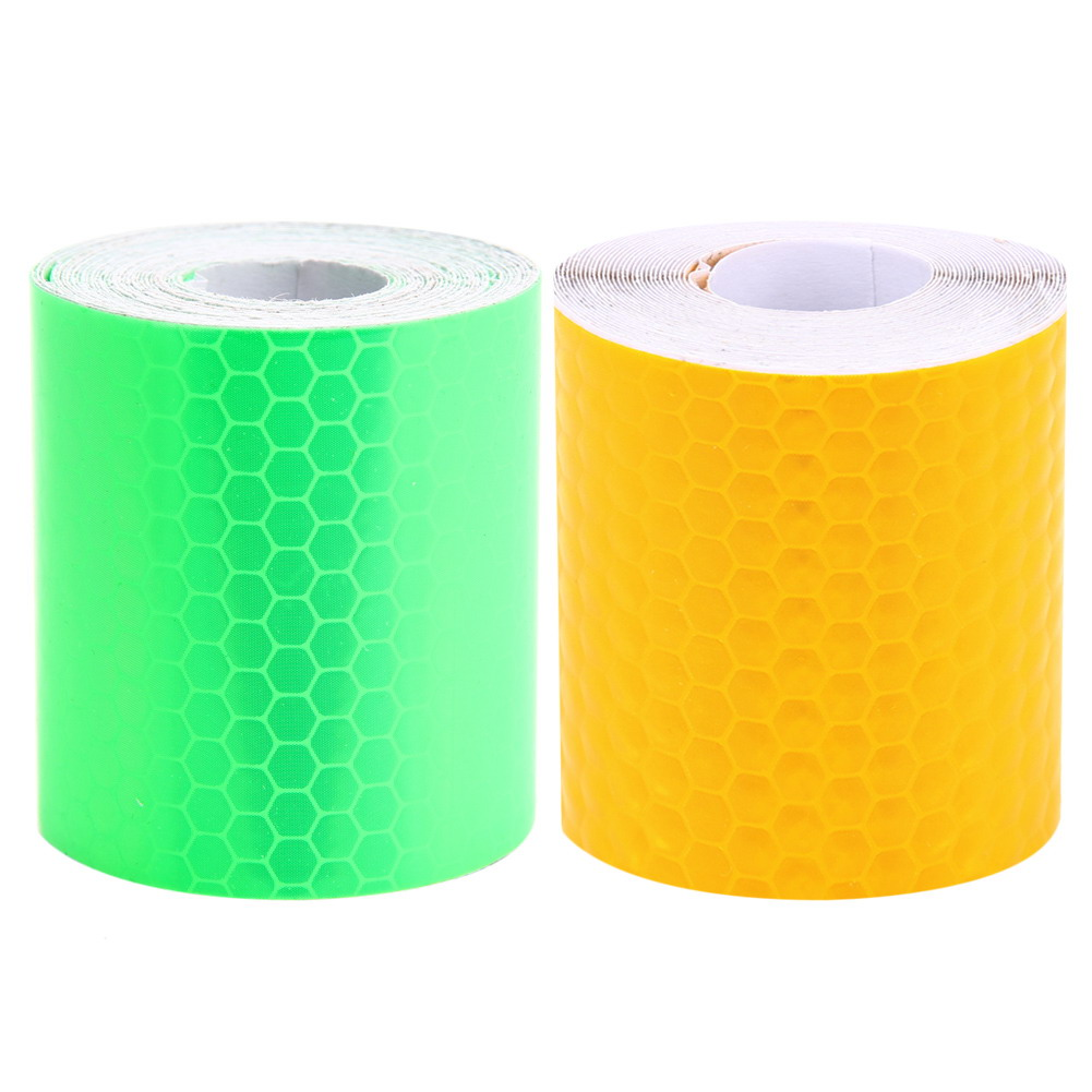 5x300cm Auto Car Reflective Tape Stickers Self Adhesive Warning Tape for Vehicles Truck Motorcycle Cycling Reflective Tape New