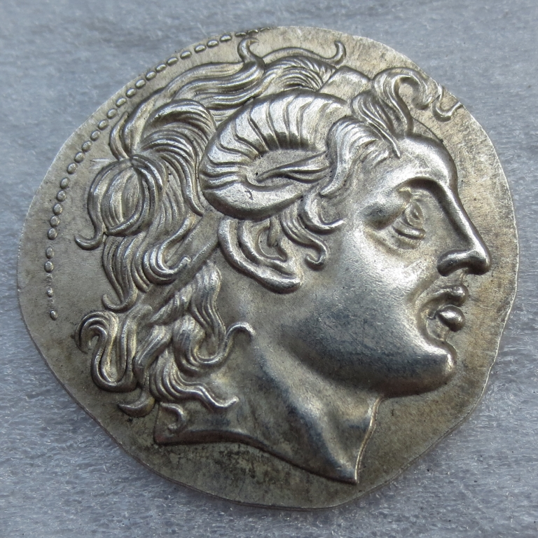G (14) Редкие Ancient Greek Sandals монета-415 тетрадрахма копирования монеты ...