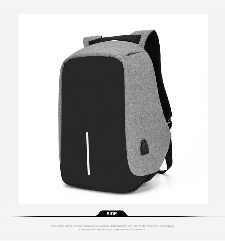 Sac à dos pour ordinateur portable USB 15