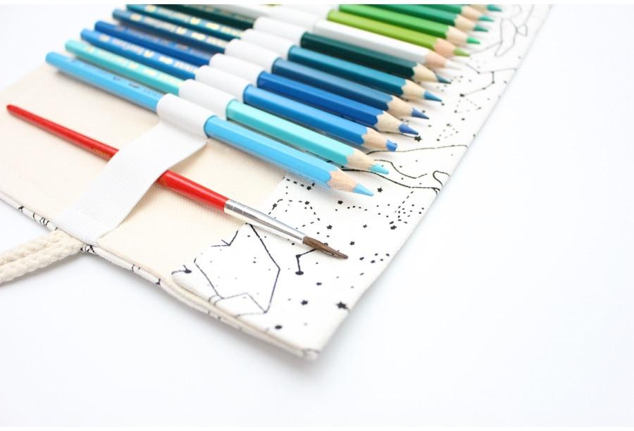 pencilcase esboço escova caneta lápis saco ferramentas