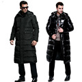 HOT Mens Winter Coat Down Jackets White Duck Parkas Hooded Thick Warm Outwear Windbreak Waterproof Big Size 4xl Brand Clothing