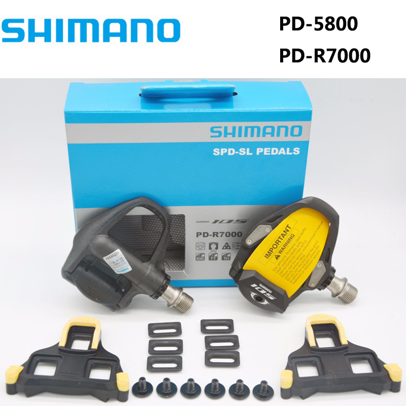 1 Box Shimano105 Carbon SPD-SL PD-5800 Clipless Road Bikecycle Pedal Cleat Pedal