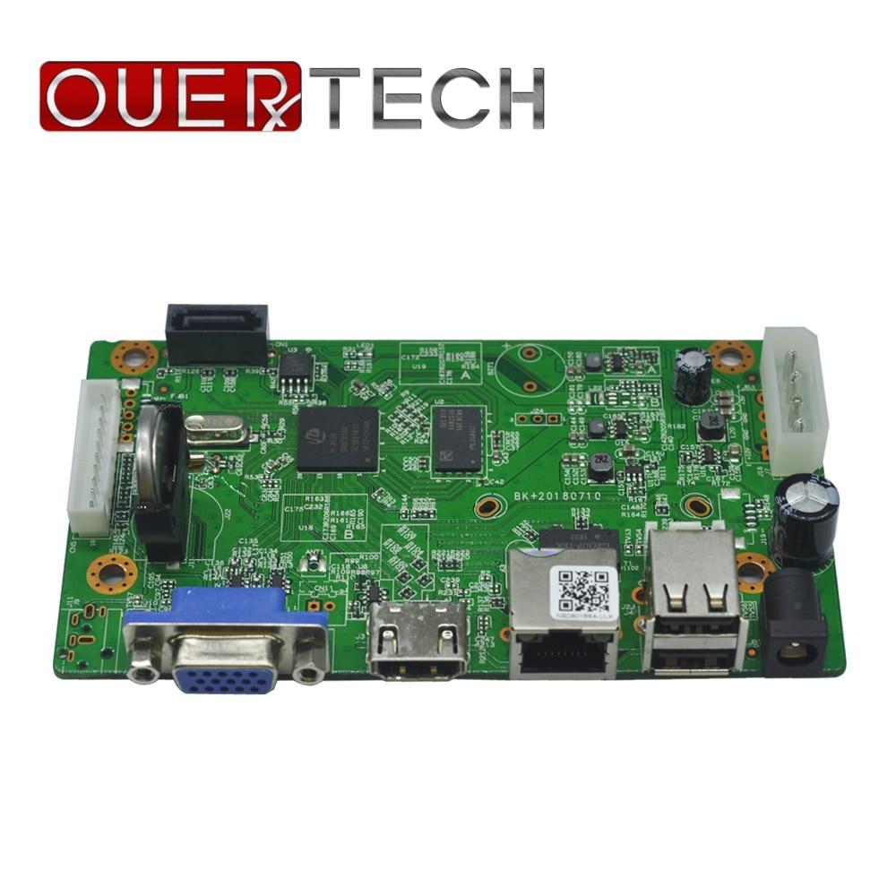 OUERTECH P2P 16ch H.265  1080P/5MP  IP video Recorder  CCTV NVR Board HI3516D Audio out ONVIF Surveillance network Board