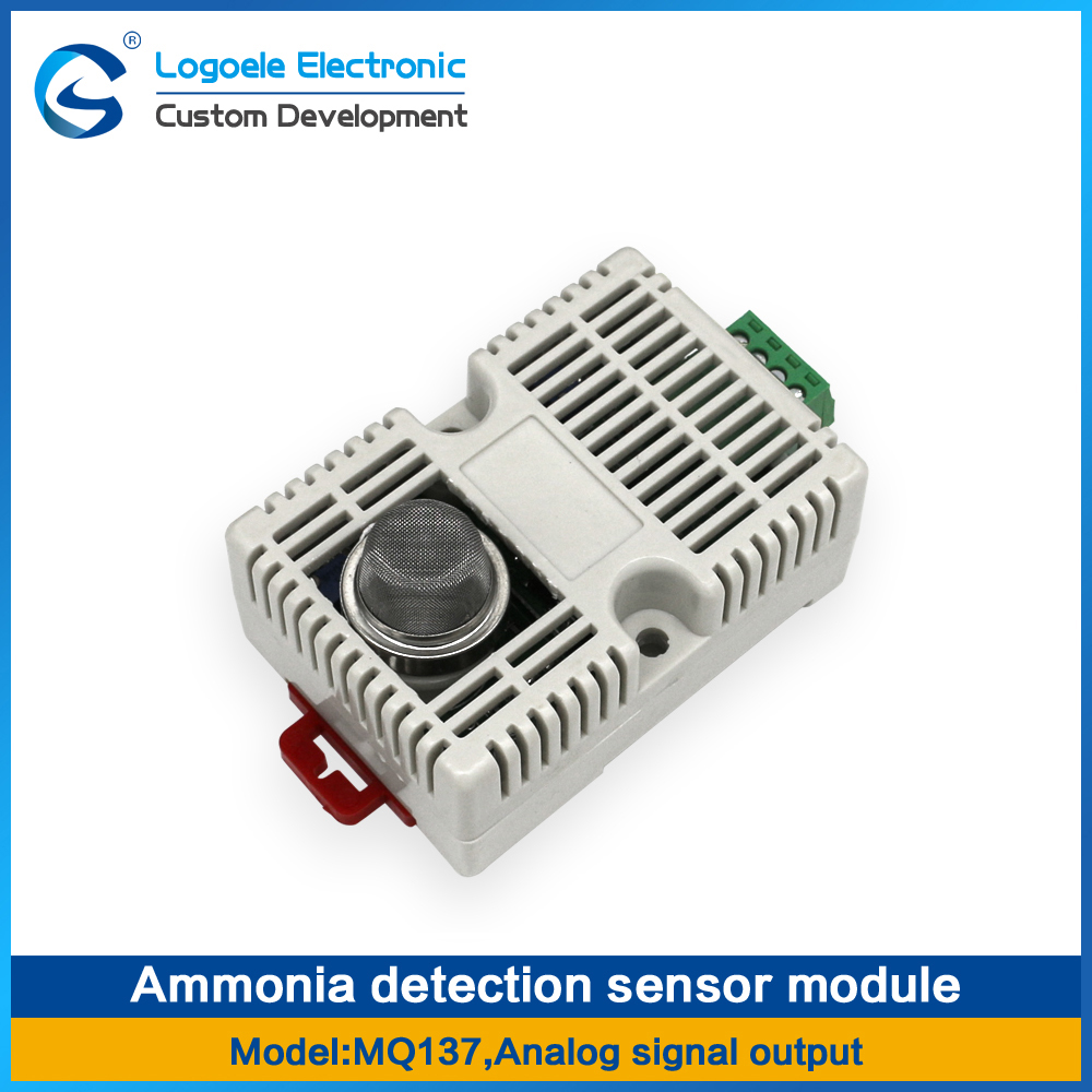 mq 7 carbon monoxide detection sensor tomato red semiconductor ammonia detection sensor MQ137 MQ-137 module NH3 gas module, with shell