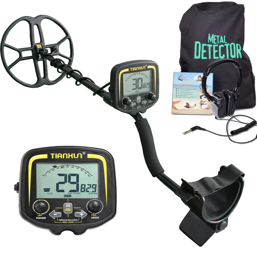 TIANXUN détecteur de métaux souterrain haute sensibilité TX850 grande bobine or Digger LCD affichage détecteur de métaux trésor à la recherche de métal