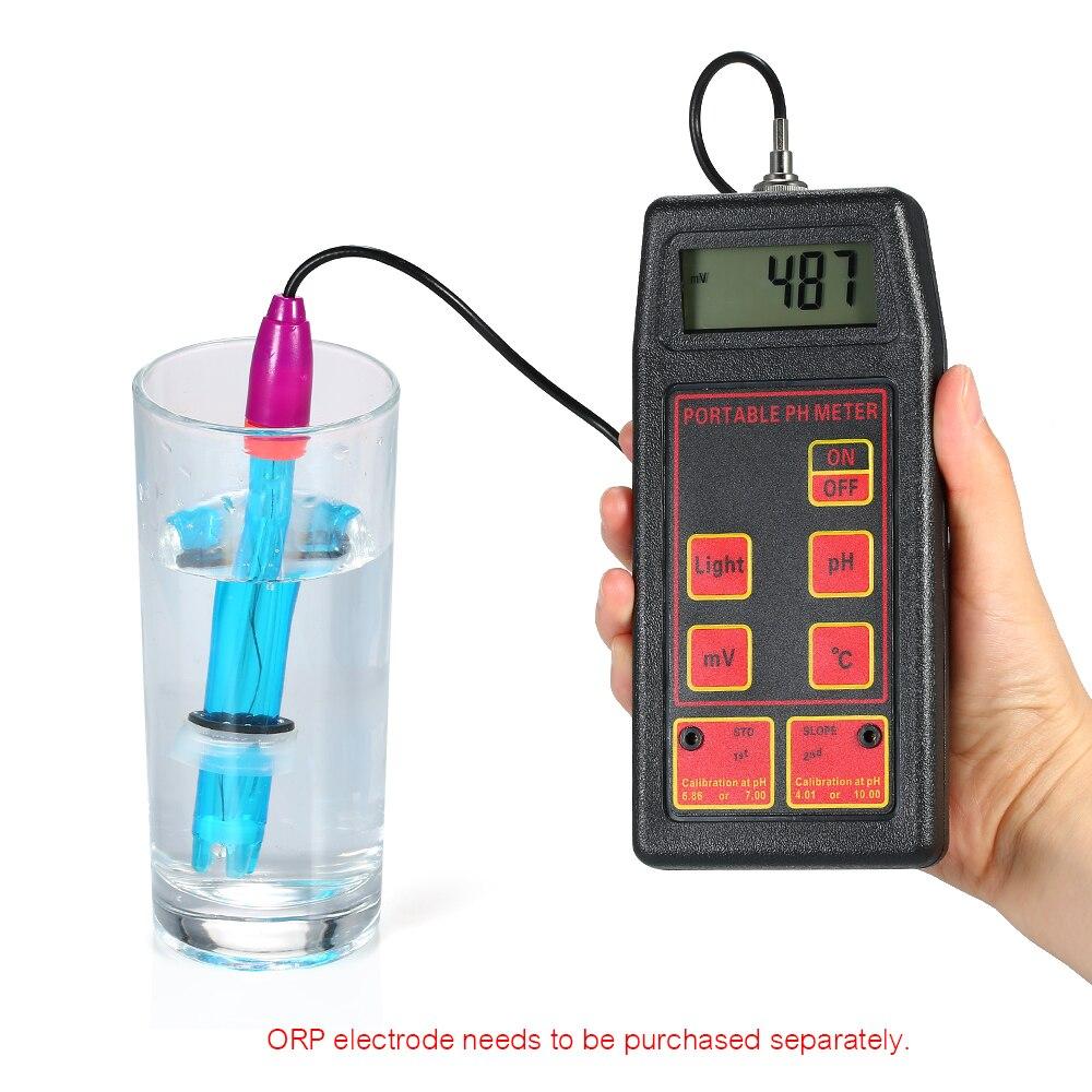 Aquarium PH meter portable ORP/TEMP Meter Temeperature Tester Water Quality Monitor Detector Digital Tri-Meter Multiparameter multi function 3 in 1 water quality monitor ph ec temp meter detector digital lcd tri meter multiparameter tester safer