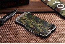 Armor Iron Man Steel Metal Shockproof Flip Case For Samsung Galaxy S7 S7Edge & S6 Edge S6 Edge Plus Camo Style phone cover