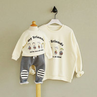 Family Matching Clothes Spring And Autumn Long Sleeve Girls Sweatshirt For T Shirt For Girls Mother
