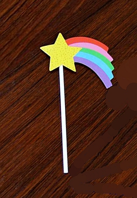 Cute Cake Toppers Party Cupcake Decoration Smiley Sun Good Night Moon Meteor Rainbow Cloud Raindrop Kids Birthday Wedding Decor Cake Decorating Supplies Festive & Party Supplies