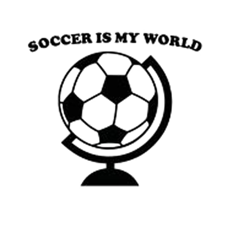 Online Get Cheap Soccer Car Decal Aliexpresscom Alibaba Group - Soccer custom vinyl decals for car windows