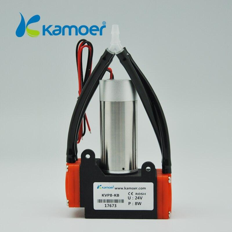 Kamoer KVP8 24V mini vacuum pump brushless micro diaphragm pump electric air pump with high nagative pressure/vacuum degree
