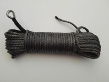 Grey 6mm*30m Synthetic Winch Rope,Plasma Winch Cable,Tow Rope Car,ATV Winch Line