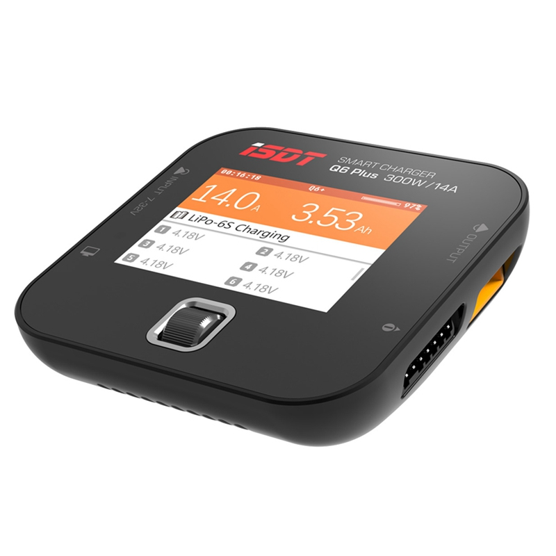 ISDT Q6 Lite/Plus/Pro 200/300W 14A MINI For Pocket Battery Balance Charger For RC Parts English Language Version