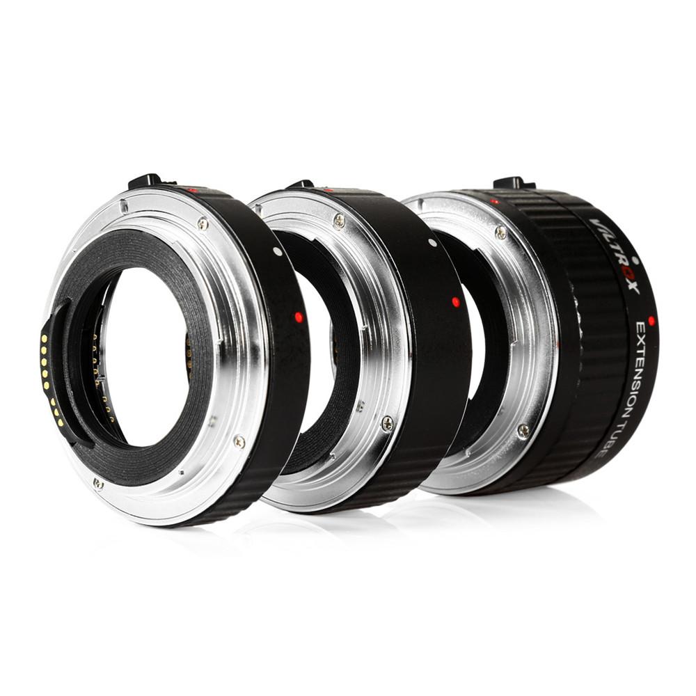 Prix pour Lens Adapter Viltrox DG-C 12 MM 20 MM 36 MM AF Auto Focus Métal Montage Macro Extension Tube Set pour Canon EOS Série caméra