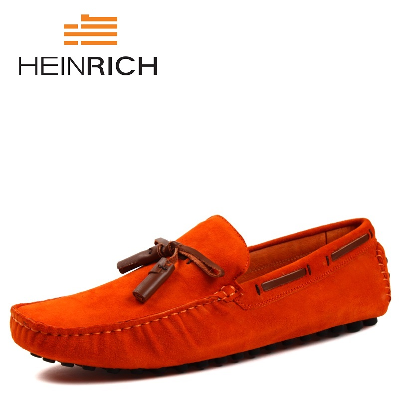 HEINRICH 2018 Spring Summer Newest Men Genuine Leather Shoes Fashion Tassel Men Shoes Solid Slip On Man Driving ShoesHEINRICH 2018 Spring Summer Newest Men Genuine Leather Shoes Fashion Tassel Men Shoes Solid Slip On Man Driving Shoes