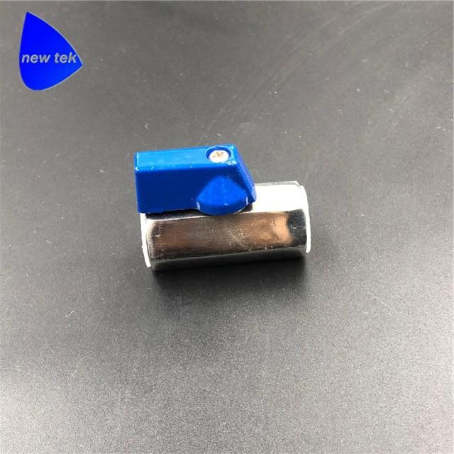 1/4in. Stainless Steel Mini Ball Valve - FxF NPT or BSP