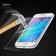 2PCS Glass For Samsung Galaxy J1 Phone Screen Protector Tempered 2015 J100 Film