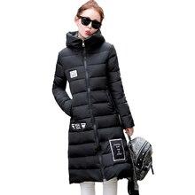 Tengo New Autumn winter Hooded Women s Clothing Warm Slim Coat Down Cotton padded Jacket