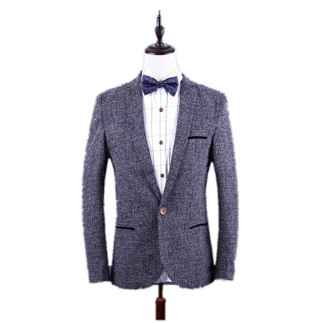 Regular Suits for Men new Hot Korean fit Spring Male Mens Casual Jacket Cotton coat Business fashion suit Large size Gent Life