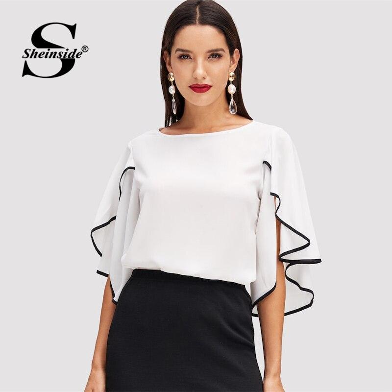 8fbc4f5393b Sheinside Асимметричный элегантное праздничное платье Для женщин лазерная  резка Dip Подол сексуальное платье ...