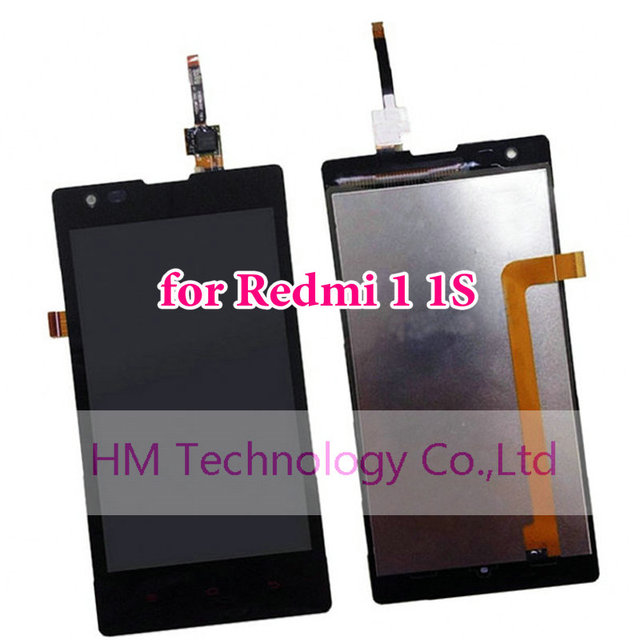 Black LCD+TP for Xiaomi Redmi 1 1S Redmi1s 4.7 LCD Display +Touch Screen Digitizer Replacement Repair Parts Free Shipping+Tools