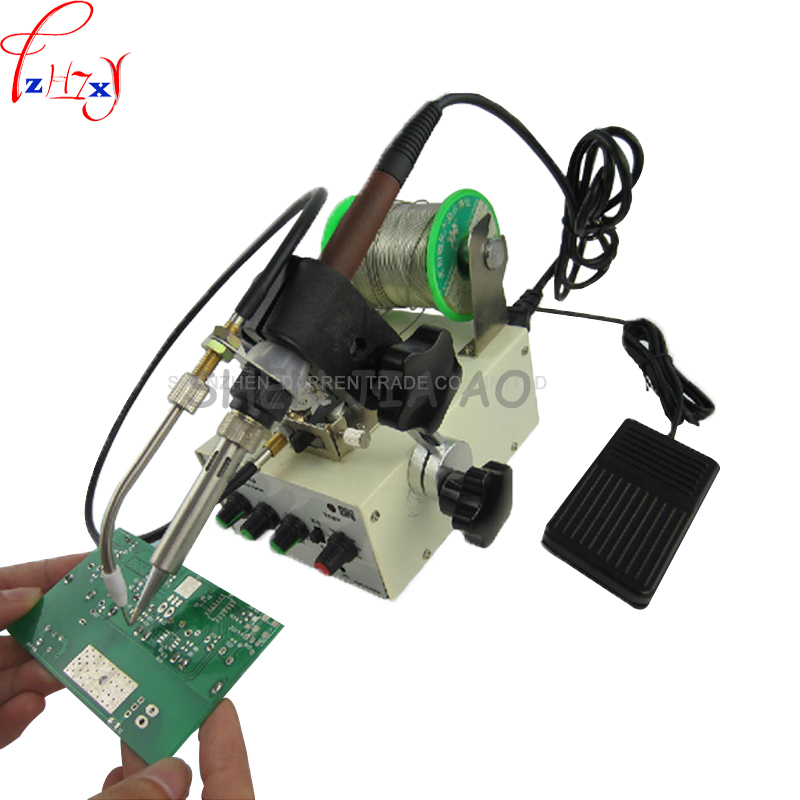 Automatic tin feeding machine constant temperature soldering iron Teclast iron F3100B multi-function foot soldering machine 1pcs