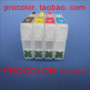 PROCOLOR New Refillable Ink cartridges Japan version ,IC69L with Auto Reset chips for epson PX-105/505/PX-535F/PX-045A/PX-405A фото