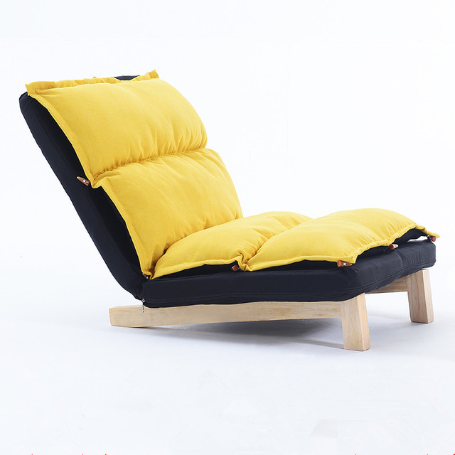 Adjustable Folding Sofa Lounge Sofa Chair Floor Lazy Sofa Bedroom