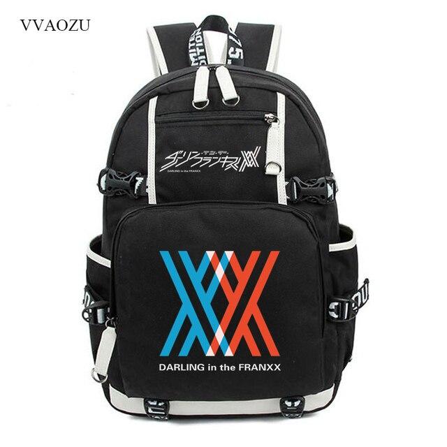 c2ded87acfa0 Darling в franxx Косплэй ноль два товара 02 016 Рюкзаки школьная сумка  Дорожные сумки рюкзаки для