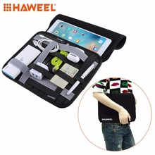 HAWEEL Universal Casual Tablet Bag For 10 inch Tablets Phone Accessories Organizer Digital Storage Pocket Bag For iPad