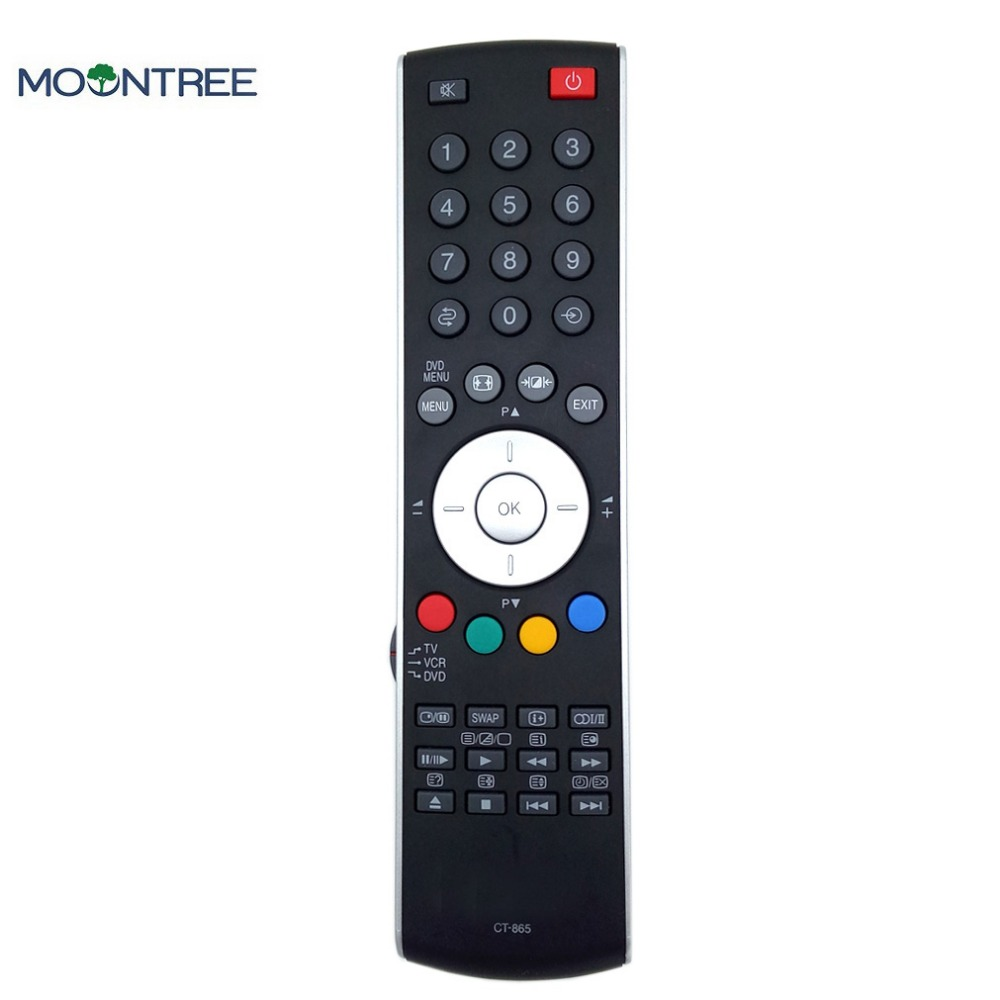 CT-865 ORIGINAL replacement remote control for Toshiba TV Controller 433mhz For Toshiba 20WL56B 23WL56B 32-WL66Z 37-WL66Z
