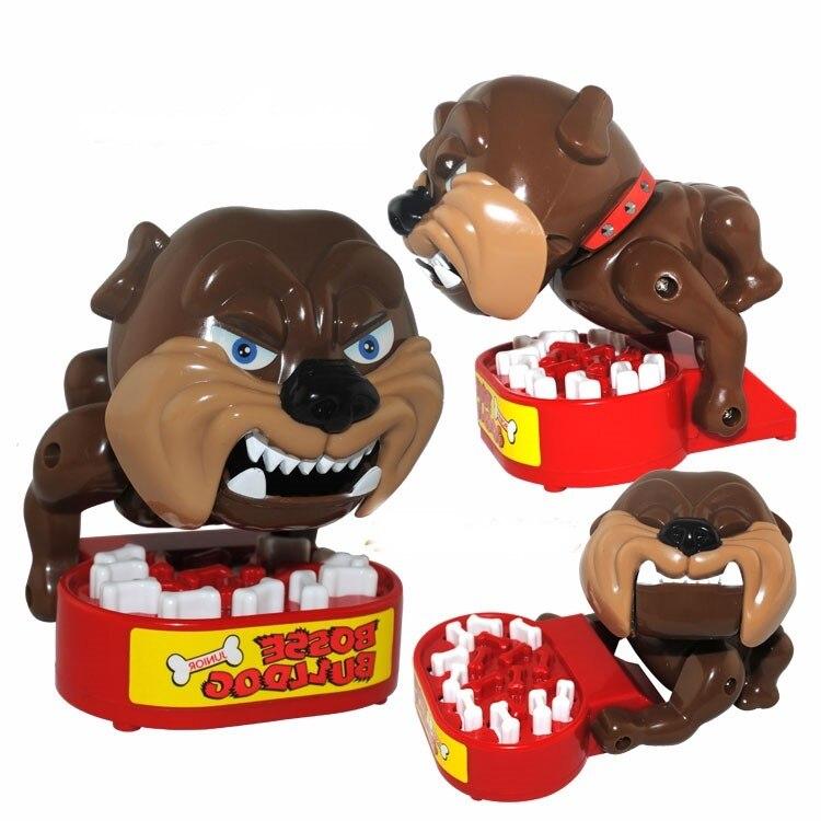 Vente chaude jouets délicats jouets créatifs prudent chien vicieux mordre la main paternité Parent-enfant jeu interactif jouets