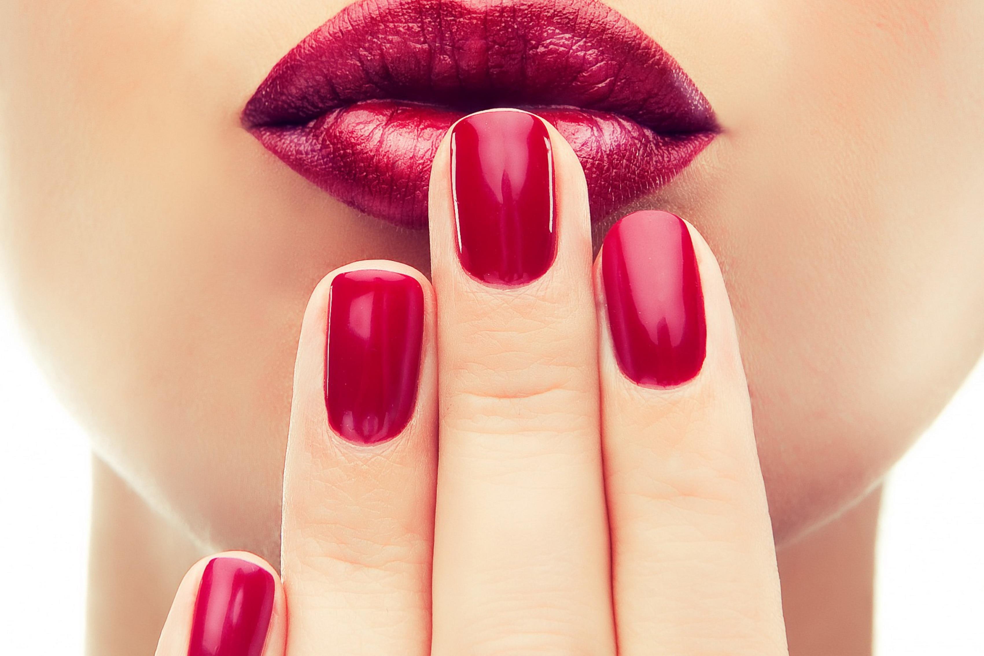 Nail paint girl sex