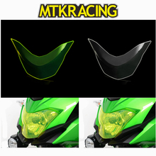 MTKRACING FOR KAWASAKI VERSYS-X 300 VERSYS X-300 VERSYS-X300 2017 motorcycle Headlight Protector Cover Shield Screen Lens