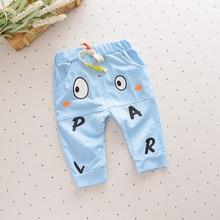 Retail autumn Cute Toddler Kids Boy Harem Pants Trousers Bottoms Slacks Clothing For Boys candy colors