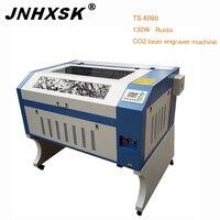 JNHXSK TS6090 130 W Ruida co2 máquina de gravura do Laser máquina de Corte CNC Router gravador do laser|Roteadores de madeira| |  -