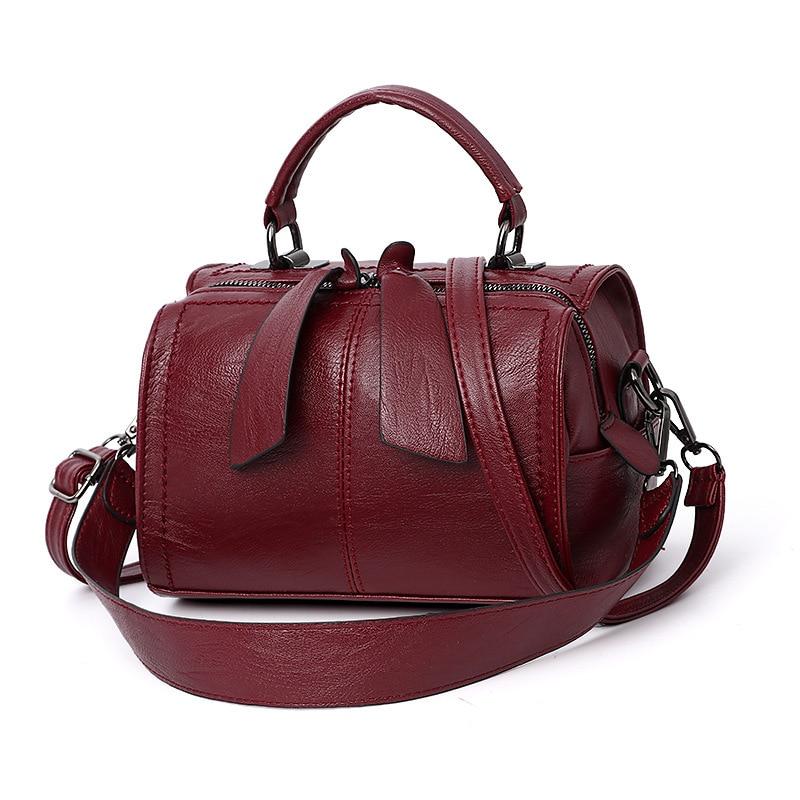 Image 4 - 2019 luxury handbags women bags designer vintage women shoulder crossbody bag joker leisure ladies Pillow totes bolsas feminina-in Shoulder Bags from Luggage & Bags
