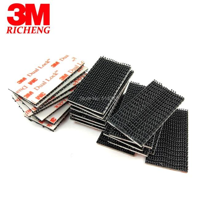 Hot 3M dual lock tape Waterproof Hook And Loop Tape SJ3550, 1in * 2in*10000PCS