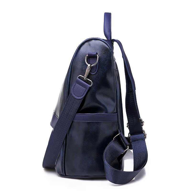 Soperwillton женский рюкзак Противоугонный Молодежный кожаный рюкзак для девочек-подростков женская школьная Сумка Через Плечо Рюкзак mochila