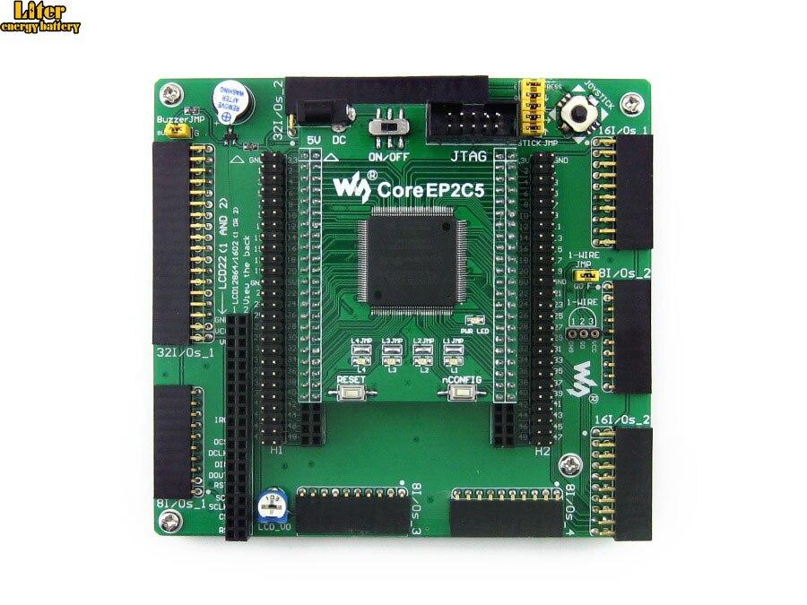 Altera Cyclone Board EP2C5 EP2C5T144C8N ALTERA Cyclone II FPGA Development Board = OpenEP2C5 C Standard