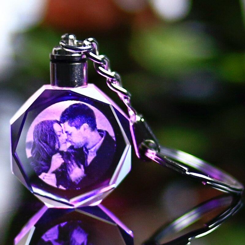 Angepasst Souvenirs Geschenk Dekoration Herz Form K9 Kristall Fotos ...