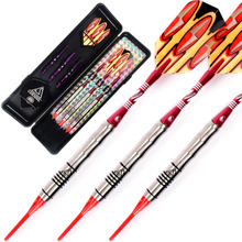 Free Shipping Cuesoul  CSTSTD004 95%Tungsten Soft Tip Darts Dart Set cuesoul free shipping 30pcs set dart flights for soft tip darts